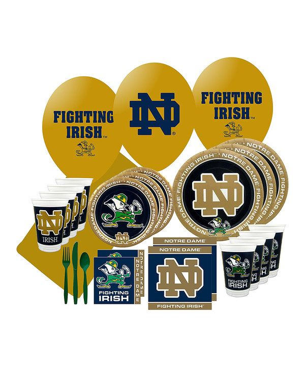 Take a look at this Notre Dame Party Pack for 24 on zulily today!