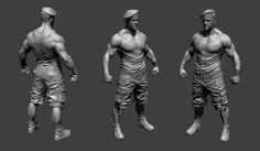 military guy, Arash Beshkooh on ArtStation at https://www.artstation.com/artwork/military-guy-0b8605d5-1e13-4506-be5a-b46acc57577b