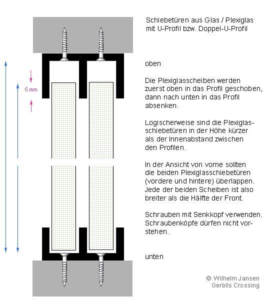 Basteltipps Schiebet 252 Ren Plexiglas Bauanleitungen