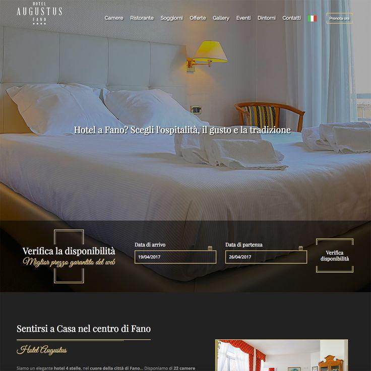 L'Hotel Augustus di Fano è online con una nuova veste grafica. Innovazione e Tecnologia in tutte le sue forme: ecco il nuovo sito realizzato! www.hotelaugustus.it