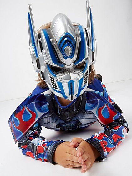 Get your little Autobot prepared to save Cybertron, with this fantastic Optimus Prime fancy dress costume. The all-in-one has a padded chest, shoulder attach...