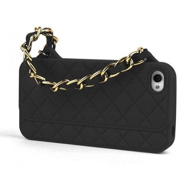 Coque sac à main matelassé - iPurse pour iPhone 4 / 4S