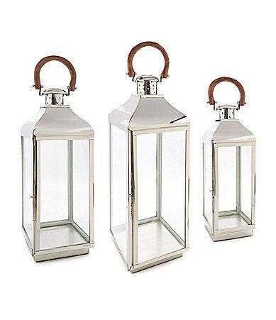 Southern Living Lexington Silver Lantern Dillards
