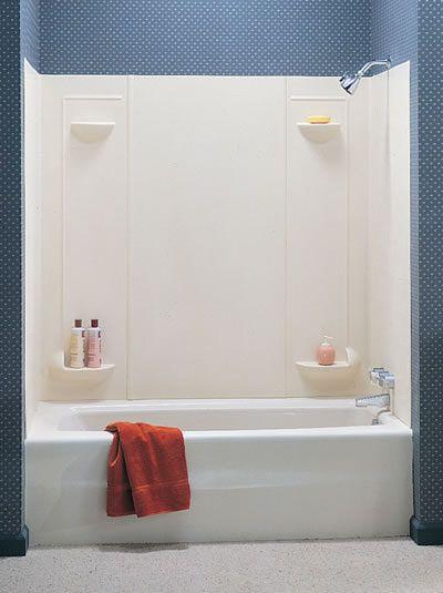 Prefab Vs Tiled Shower Which Is A Better Choice In 2019 Fiberglass Shower Bathroom Shower Tub