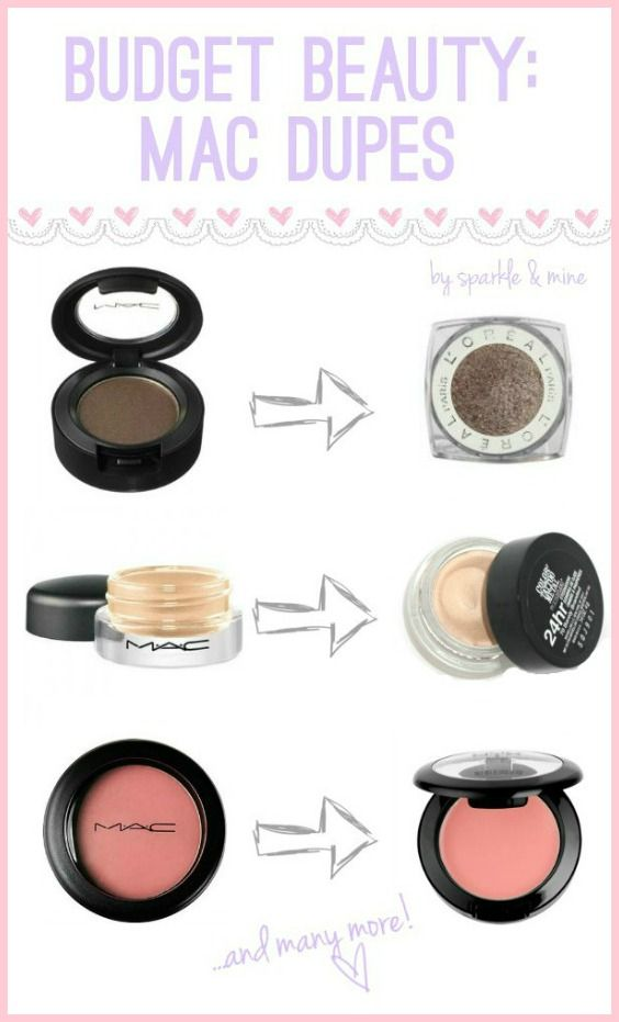 One of my favorite new beauty blogs. She's frugal, like me. Sparkle & Mine: Budget Beauty: MAC Dupes!