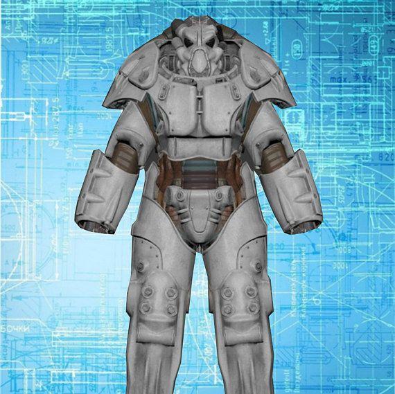 Fallout 4 X-01 power armor blueprints for EVA Foam build