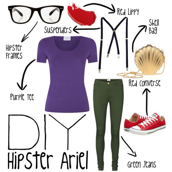 Hipster Ariel - Polyvore