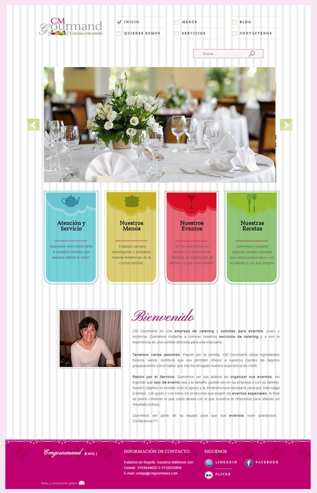 Diseño Web CM Gourmand http://www.yuddyhernandez.com/portafolio/html/cm-gourmand.html