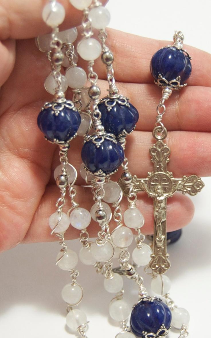 50 Best Rosary Beads Images On Pinterest Angel Bracelet