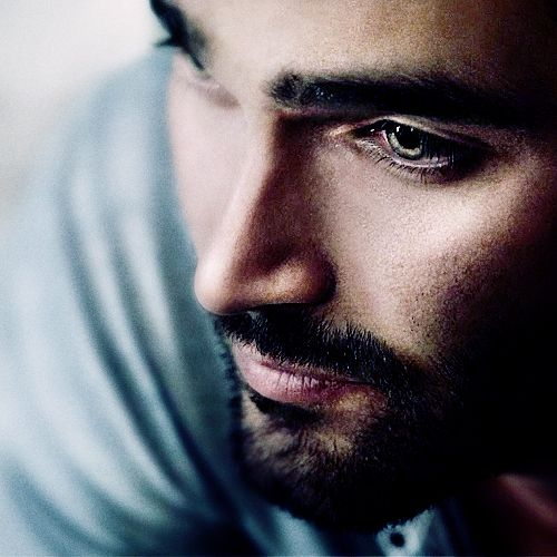 Tyler Hoechlin who plays Derek Hale in MTV's Teen Wolf.