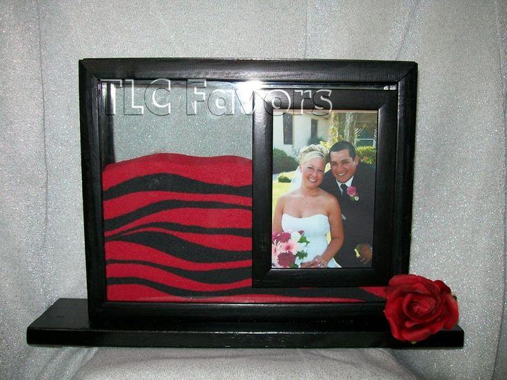 Unity Sand Custom Wedding Photo Frame Ceremony Unique By Tlcfavors