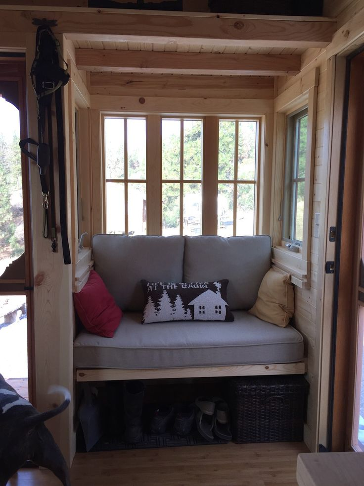 "Tumbleweed Tiny House Interior a cypress 24 horizon ""fisher""tiny house designedtumbleweed"
