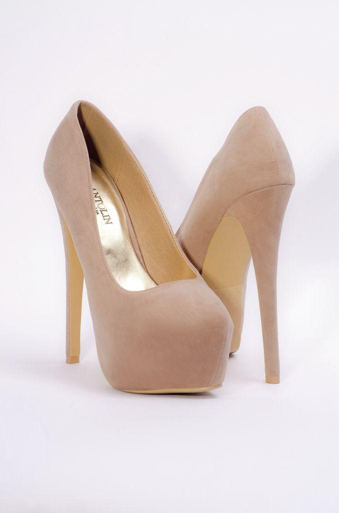 Zapatos con taco color rosa pálido - Comprar en Natalia Antolin