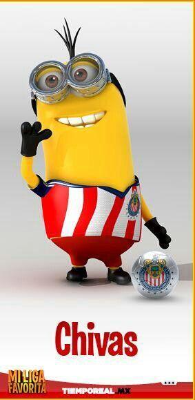 Minion liga mx Chivas