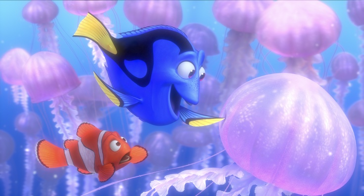 We want to test you with some Finding Nemo trivia. Can you guess the name of the blue fish in the picture?
