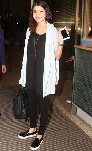 Bollywood Celebrities Flying In Style Airport Fashion 2015 Bollywood Celebrity Airport