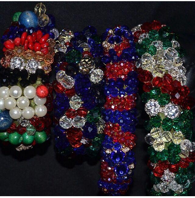 Bracelets and headwears