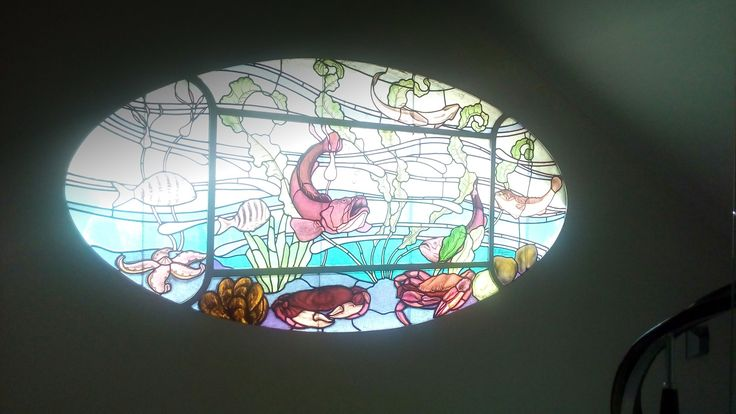 2nd floor stained glass! #LucyHotel #Chalkida #creative