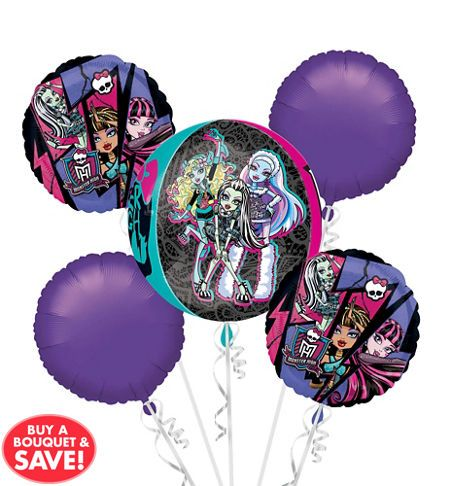 Monster High Party Supplies - Monster High Birthday Ideas - Party City