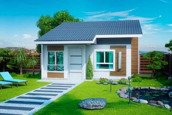 109 Einfache Und Kleine Hauser Fassaden Schone Fotos Neu Dekoration Stile Kleines Haus Aussen Hausfassade Fassade