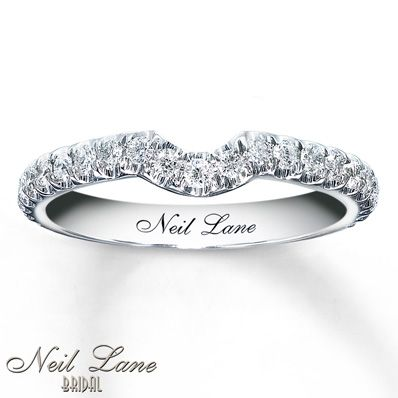 The 25 best neil lane wedding rings ideas on pinterest neil lane wedding band 13 ct tw diamonds 14k white gold junglespirit Choice Image