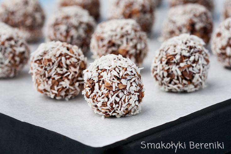 Kuleczki kokosowo-owsiane