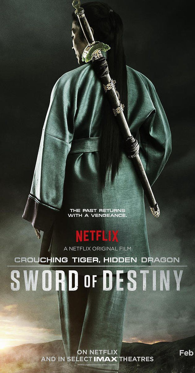 Directed by Woo-Ping Yuen.  With Donnie Yen, Michelle Yeoh, Harry Shum Jr., Jason Scott Lee. A story of lost love, young love, a legendary sword and one last opportunity at redemption.
