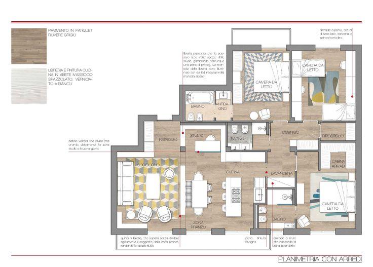 Pi di 25 fantastiche idee su camere da letto in giallo su for Planimetrie della cabina 4 camere da letto