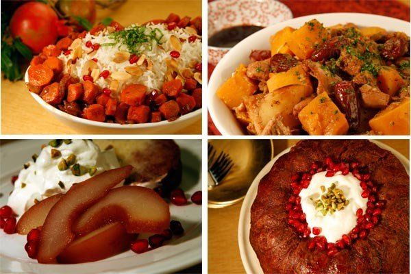 Recipes: Rosh Hashanah dishes are richer with pomegranate, date flavorings