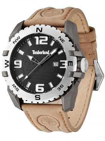 TIMBERLAND brown leather strap 13856JPGYS-02 http://kloxx.gr/timberland-brown-leather-strap-13856jpgys-02