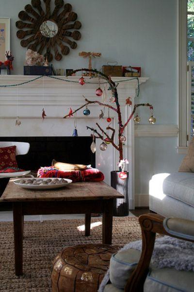 Weihnachtlich Dekorieren Mit Zweigen