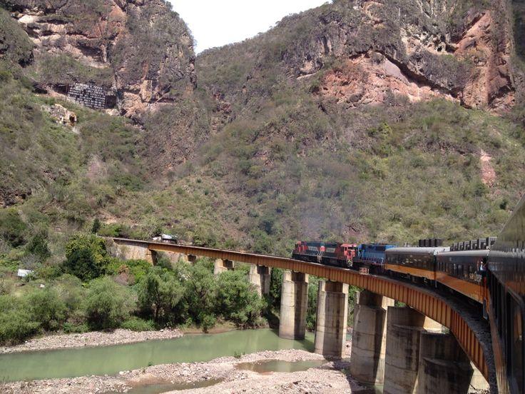 Chepe train ride through the canyon