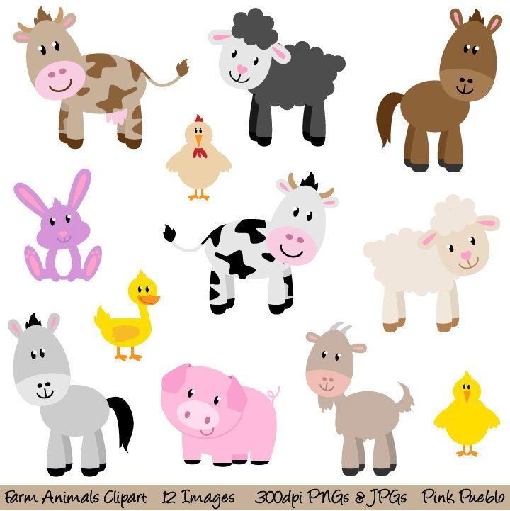 Baby Farm Animals Clip Art 123 best moldes - quinta images on pinterest | crafts, felt