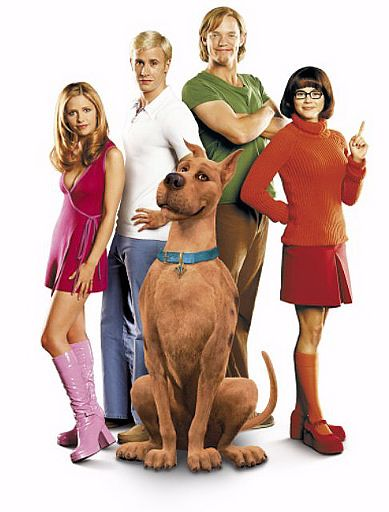 The absolutely hysterical and cool Scooby Doo live action cast. This approach--which worked so well in the Brady Bunch Movie--is a great way to go for a relaunch! (Of course, 'Mockingbird Lane' was pretty great, too!)