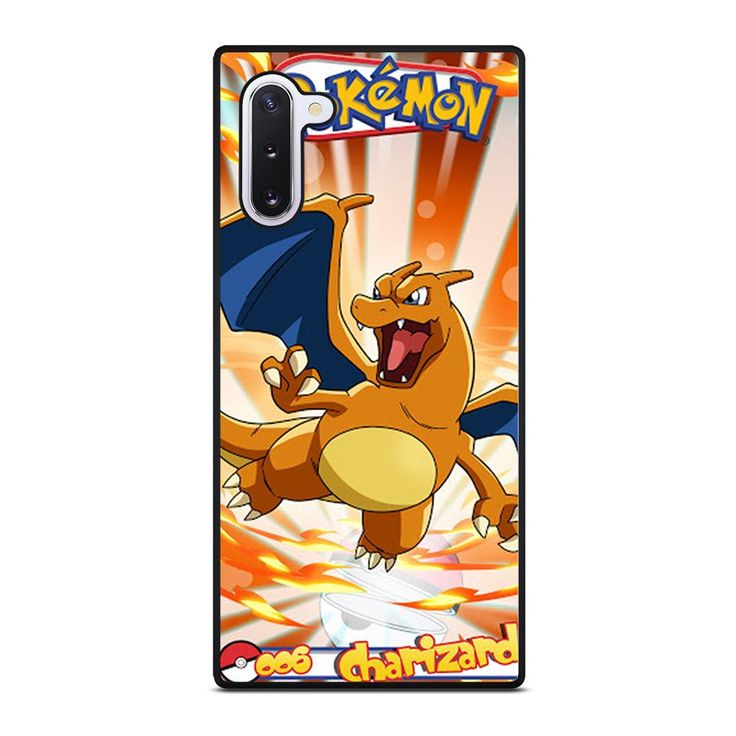 Pokemon charizard 2 samsung galaxy note 10 case in 2020