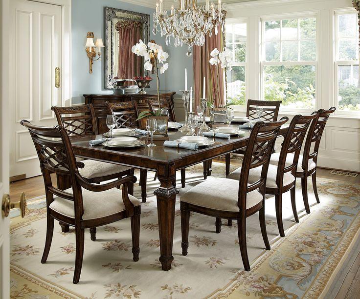 Biltmore Louis Dining Rectangular Dining Room Set  Fine Furniture ...