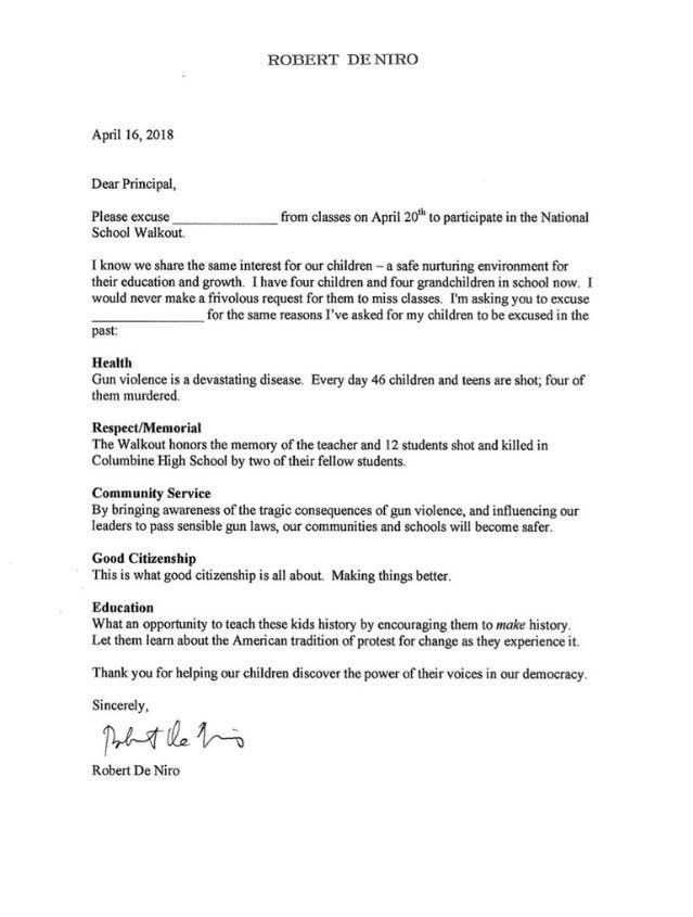 National School Walkout on Pinterest National school - community service letter