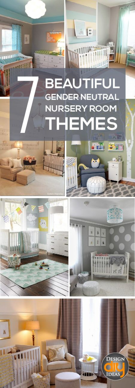 Are you expecting?  Satisfy that nesting feeling with these 7 beautiful gender neutral theme rooms.  They are just so perfect!