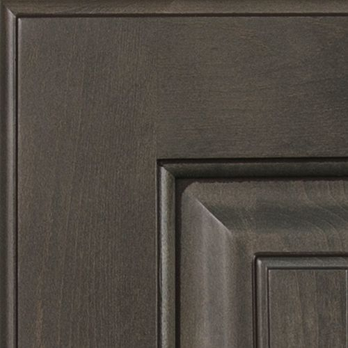 Kitchen Cabinet Painting Ideas Colors Aspect - Maple Smoke With Mocha Glaze | Cabinet Colors