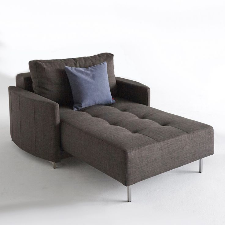 Crescent Deluxe Excess Lounger allows for a uniquely interesting chaise to  become a single-size