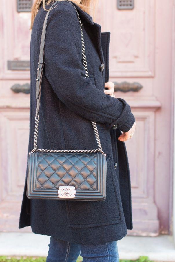 Chanel Boy Flap Bag Medium - in black, of course
