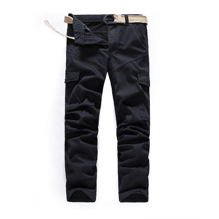 Cargo pants men pantalon homme military pants army green army trousers multi pants pocket pant