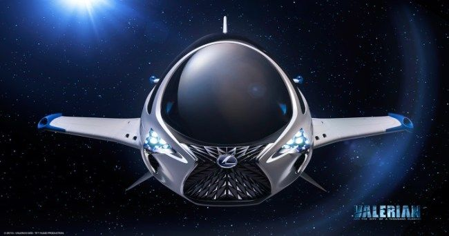 Lexus Have Built A Spaceship And Doesn't It Look Absolutely Ridiculous :http://gossfeed.com/2016/11/15/valerian-and-the-city-of-a-thousand-planets/