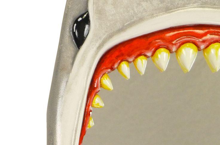 "Jaws Mirror: ""Bite me"". MarvellousMirrors.com"