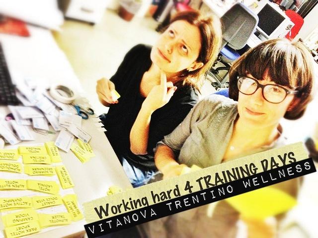 """""""Quelle brave ragazze""""...grandissime le consulenti di #ideaturismo, @giuliatravaglia e @ariannafeller, Working hard per preparare i TRAINING DAYS di @vitanovahotels (www.vitanova.to). #grandi ragazze, bravissime! by Idea Turismo, via Flickr"""