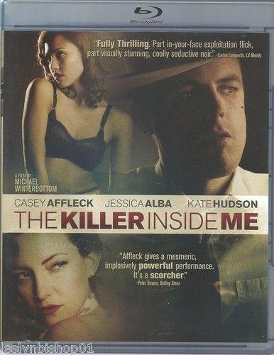 The Killer Inside Me (Blu-ray Disc, 2010) Jessica Alba, Casey Affleck, Ned Beatt