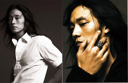 So Ji Sub's long hair