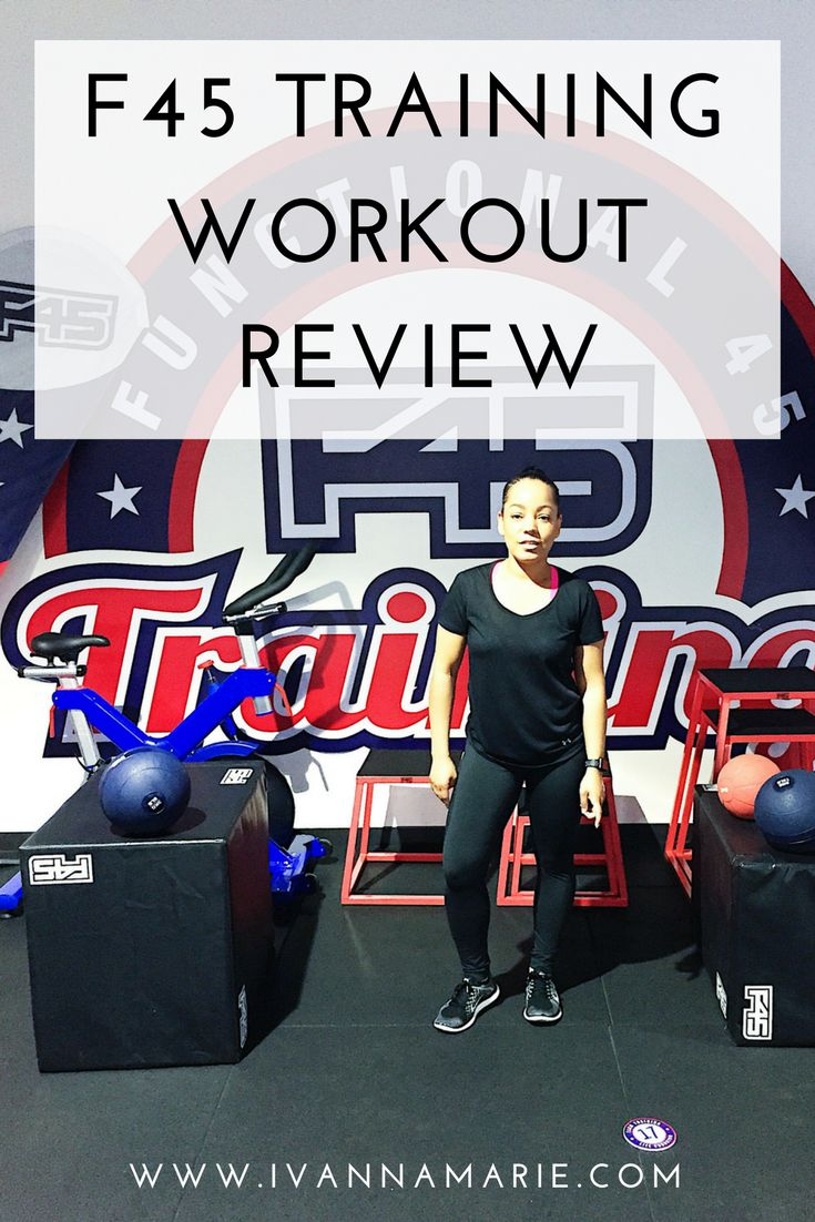 F45 Training Class Review - Ivanna Marie