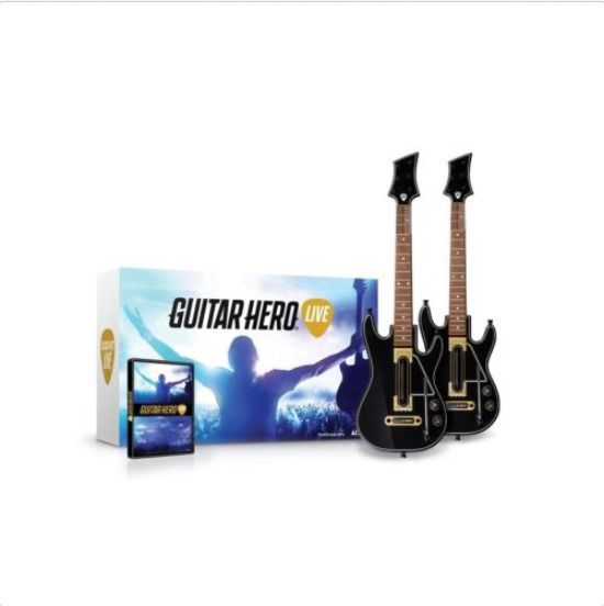 Guitar Hero Live 2 Guitar Controllers Bundle (Wii U) Free Shipping Brand New  #Activision