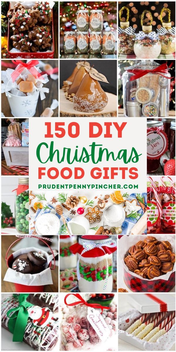 150 Best Food DIY Christmas Gifts in 2020 | Christmas food gifts